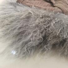 Новорожденный кудрявый шерстяной одеяло реквизит для фотосъемки, flocati корзина наполнитель подстилка-подушка для детской фотографии реквизит SexeMara 32794040980