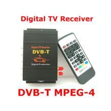 Двойная антенна автомобиля dvb-t тюнер цифровой автомобильный телевизор тюнер MPEG2 MPEG4 MPEG-4 автомобильный мобильный цифровой DVB T приемника для автомобиля монитор No name 32791276426