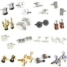 Лидер продаж 16 видов стилей музыкальный инструмент запонки 1 пара Бесплатная доставка большой продвижение TZG 32685323175