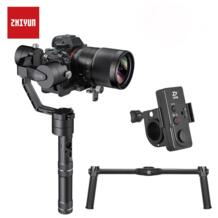 ZHIYUN кран V2 3 оси Gimbal ручной DSLR стабилизатор с 360 градусов для sony A7/Panasonic LUMIX/Nikon J/Canon M zhi yun 32952549169