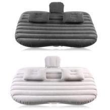 Зарубежных Автомобильная надувная кровать сзади Сидушка-матрас надувной матрац для отдыха и сна Путешествия Отдых черный и серебристый серый No name 32860687626
