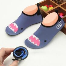 Мягкие Детские плавники с животными; носки для дайвинга; нескользящая пляжная обувь; Подводные ботинки; гидрокостюм; не царапается QUESHARK 32658684925