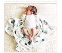Младенческой муслин bamboo из мягкого хлопка для новорожденных банное Полотенца пеленки, одеяла Multi конструкции функции постельные принадлежности Обёрточная бумага для пеленания flaming No name 32434882129