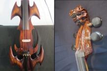 Эксклюзивный дизайн Crazy-1 арт оптимизировать Резьба Дракон 4/4 Электрический Виолончель #9734 No name 32849555708