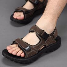 Новые мужские сандалии летние черные повседневная обувь высокого качества пляжные сандалии на плоской подошве тапочки для мужчин hommes sandalias размер 45 46 47 No name 32319260375