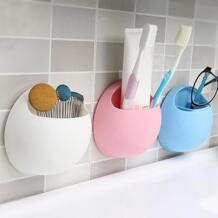 Новые милые яйца дизайн зубная щетка держатель присоски крючки чашка органайзер для зубных щеток стойка для ванной комнаты No name 32821787876