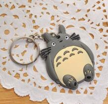 Kawaii CAT, CAT резина 4 см Ключ крючок на кошелек, ПВХ ключ чехол No name 32613056613