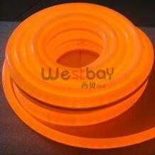 Новый 220 В мини оранжевый светодио дный neon для DIY украшения дома освещение, популярные в России, Румынии, швейцария, Франции, Италии, 10 м/лот No name 32272642267