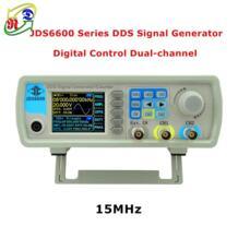 RD JDS6600 серии 15 мГц двухканальный DDS Функция генератор сигналов цифрового частоты генератор метр произвольное синусоидальное No name 32814403936
