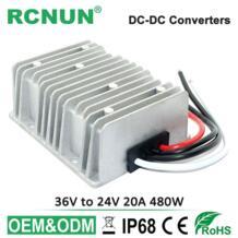 36 В-24 В 480 Вт DC-DC Шаг вниз конвертер Buck модуль DC 36 В к DC 24 В 20A Напряжение регулятор RCNUN 32647843262