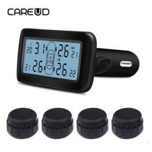 D30 TPMS Автомобильная электроника Беспроводной шин Давление мониторинга Системы с внешними сменный Батарея датчики ЖК-дисплей Дисплей CAREUD 32797737622