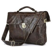 Jmd винтаж 100% из натуральной кожи мужчины бизнес-сумки сумка для ноутбука портфель сумка / мужчины сумка JMD7091Q No name 1731881682