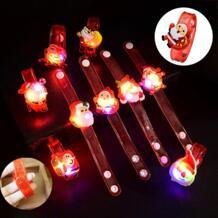 2018 рождественские светящиеся игрушки фонарик на запястье ручная работа Танцевальная вечеринка ужин вечерние Вечеринка Летние легкие игрушки для детей Детские легкие игрушки HIINST 32898681220
