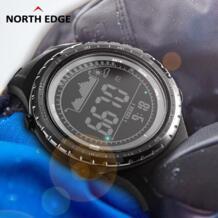 Мужские спортивные часы, альтиметр, барометр, компасы, термометр, погода, прогноз, шагомер, часы, цифровые наручные часы для бега, скалолазания NORTH EDGE 32673211000
