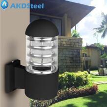 Akdsteel 220 В E27 LED cyclinder настенный светильник Современный Бра Освещение ночники Водонепроницаемый IP65 открытый настенные бра натуральный теплый No name 32835097511