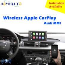 Aftermarket OEM Беспроводной Apple CarPlay A1 A3 A4 A5 A6 A7 A8 Q3 Q5 Q7 MMI решение модернизации с обратным Камера для Audi ZHOYITO 32960217233