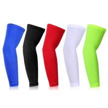 Противоскользящие удлиненные налокотники Компрессионные рукава солнцезащитный головной платок для бега гетры налокотники для фитнеса для занятий спортом на открытом воздухе No name 32853661248