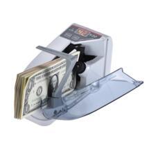 Мини Handy Билл денежных банкнот счетчик валюты подсчета машины переменного тока или Батарея питание Счётчики/детекторы банкнот для магазина No name 32840281340