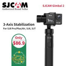 ручной GIMBAL SJ-Gimbal 2 3-осевой стабилизатор Bluetooth управление для SJ6 SJ7 SJ8 Pro/Plus/Air экшн-камера для камеры Yi Sjcam 32962867585