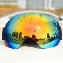 Лыжные очки Цвет линзы UV400 Анти-туман лыжные очки снег Лыжный спорт Сноуборд мотокросс очки Лыжные маски очки RBworld 32836011518