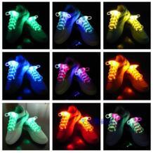 5 пар/лот мигает обувные кружева неонового пластика шнурки хип-хоп Светящиеся Шнурки светятся в темноте продукта No name 32238228682