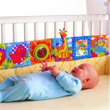 Детские игрушки 0 12 месяцев, детские погремушки, тканевая книга, познание вокруг Мультитач, многофункциональная веселье и двухцветная кроватка, бампер|toy red|book home|book imac - AliExpress ODN 32657958543