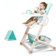 Детское кресло стульчики для кормления Многофункциональный Детский стульчик Портативный складные столы обеденные пять-шаг регулировки антидемпинговых дизайн No name 32829658797