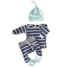 Комплект детской одежды из 3 предметов для маленьких мальчиков и девочек, топы для новорожденных, футболки штаны с длинными рукавами Повседневная шапочка, боди, комплект одежды WANGSAURA 32718394818