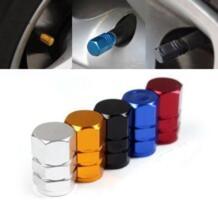 Новый 4 шт./упак. theftproof Алюминий колеса автомобиля Покрышки Клапаны шин стволовых воздуха Caps герметичной крышкой Горячая распродажа! YYH * Бесплатная доставка вики CARPRIE 32670663367