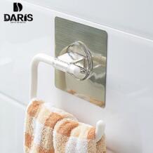 SDARISB наклейки Творческий Высокое качество Пластик стенками Ванная комната Полотенца стойки крюк Съемный Аксессуары для ванной комнаты украшения дома No name 32869373310