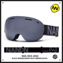 NH8001 большой сферические линзы двухслойные незапотевающий UV400 Лыжный спорт и Сноубординг, альпинизма большие очки Для мужчин Для женщин NANDN 32805958311