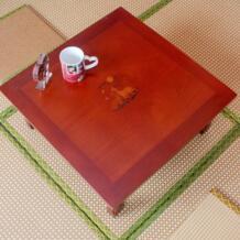 Антикварная мебель древесины складные ножки корейский стол площадь 60 см азиатский мебель для дома Гостиная Корейская низкая антикварные настольные деревянные No name 32652754597