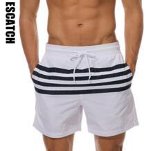 2019 Новые популярные мужские шорты для серфинга летние спортивные пляжные шорты бермуды шорты быстросохнущие пляжные шорты ESCATCH 32808105905