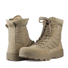Спорт Армия Для мужчин морской мужские военные ботинки рыбацкие сапоги Армейские ботинки пустыня открытый Пеший Туризм Кемпинг любителей военной No name 32946417993