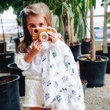 100% бамбуковое волокно муслиновое одеяло с цветочным принтом детское постельное белье банные полотенца-покрывала одеяло для новорожденных Пеленальный Конверт для младенцев обертывание MIRACLE BABY 32823378848