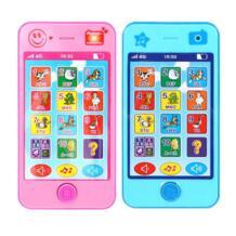 Дети телефон детские развивающие simulationp Мобильная Музыка Игрушка телефон последняя версия английского языка Детские игрушки телефон VKTECH 32869872433