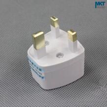1 шт. электрические Мощность разъем Подключите адаптер для Великобритании британский Англия Стандартный No name 1903948651