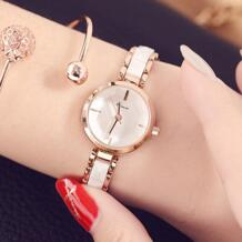 женские кварцевые часы с несколькими вырезами отражающая поверхность смоделированная керамика ремешок дамское платье браслет часы Лидирующий бренд Horloge Kimio 32719949119