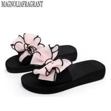 2017 женские прозрачные Вьетнамки с бантиком, женские сандалии на плоской подошве, zapatos mujer sapatos femininos b1 No name 32786176344