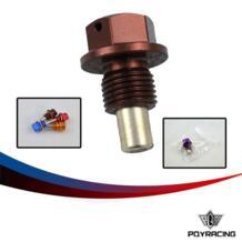 PQY RACING M12 * 1,25 магнитные слива масла и масла дренажный гайка (много цветов доступны) PQY-ODP12125 No name 683076365