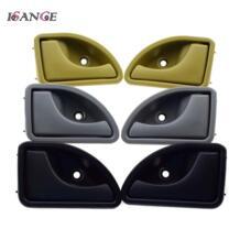 3 цвета интерьер дверные ручки передний левый и правый для Renault 1997-2006 2007 Kangoo и 1997-1999 2000 2001 2002 2003 Twingo isance 32848959948