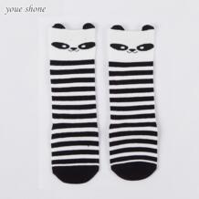 Дети ребенок мультфильм лиса носки гетры дети колено высокие противоскользящие для девочек Kawaii носок лиса унисекс No name 32582193002