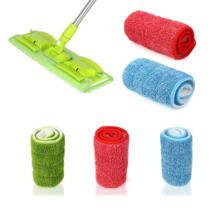 Домашняя Чистящая площадка практичная бытовая очистка от пыли многоразовая микрофибра коврик для распыления метелка для пыли Сменная головка спрей Швабра ISHOWTIENDA 32838805295