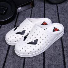 Лето 2016 мода монстр сабо для Для мужчин слипоны Шлёпанцы воздухопроницаемая комфортная обувь уличная пляжная обувь Шлёпанцы для женщин для мужчин C274 15 No name 32684252612