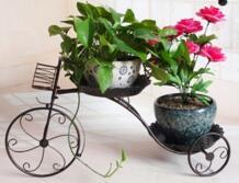 Большие размеры Европейский три горшки балкон fower горшки полка цветник стоит держатель цветок перголы металла железный Цветочные Полки No name 32614804473
