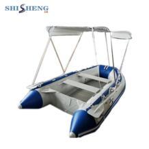 Алюминиевый пол надувной ПВХ-материал Рыбацкая лодка с палатками No name 32660969069