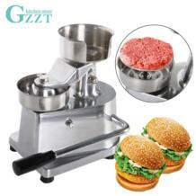 Руководство гамбургер Burger мясо пресс машина алюминиевый сплав гамбургер Пэтти Maker мм 130 мм/100 мм диаметр No name 32825506486