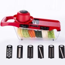 Новое поступление кухни 6 в 1 слайсер овощерезка с лезвием из нержавеющей стали Овощечистка терка для сыра Dicer Кухонный инструмент JY No name 32882893101