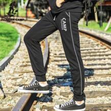 Pioneer Camp, Бесплатная доставка! 2017 мода нового прибытия мужская повседневная брюки бегунов одежда хлопок дышащая тренировочные брюки No name 32436256998
