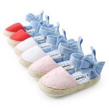 Летние детские сандалии для девочек, обувь для новорожденных, хлопковые сандалии для маленьких девочек, модная пляжная мягкая обувь, обувь принцессы Kacakid 32879649518
